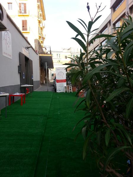La sede dell'Associazione Ventitrè in Via R. Lordi 7/9.